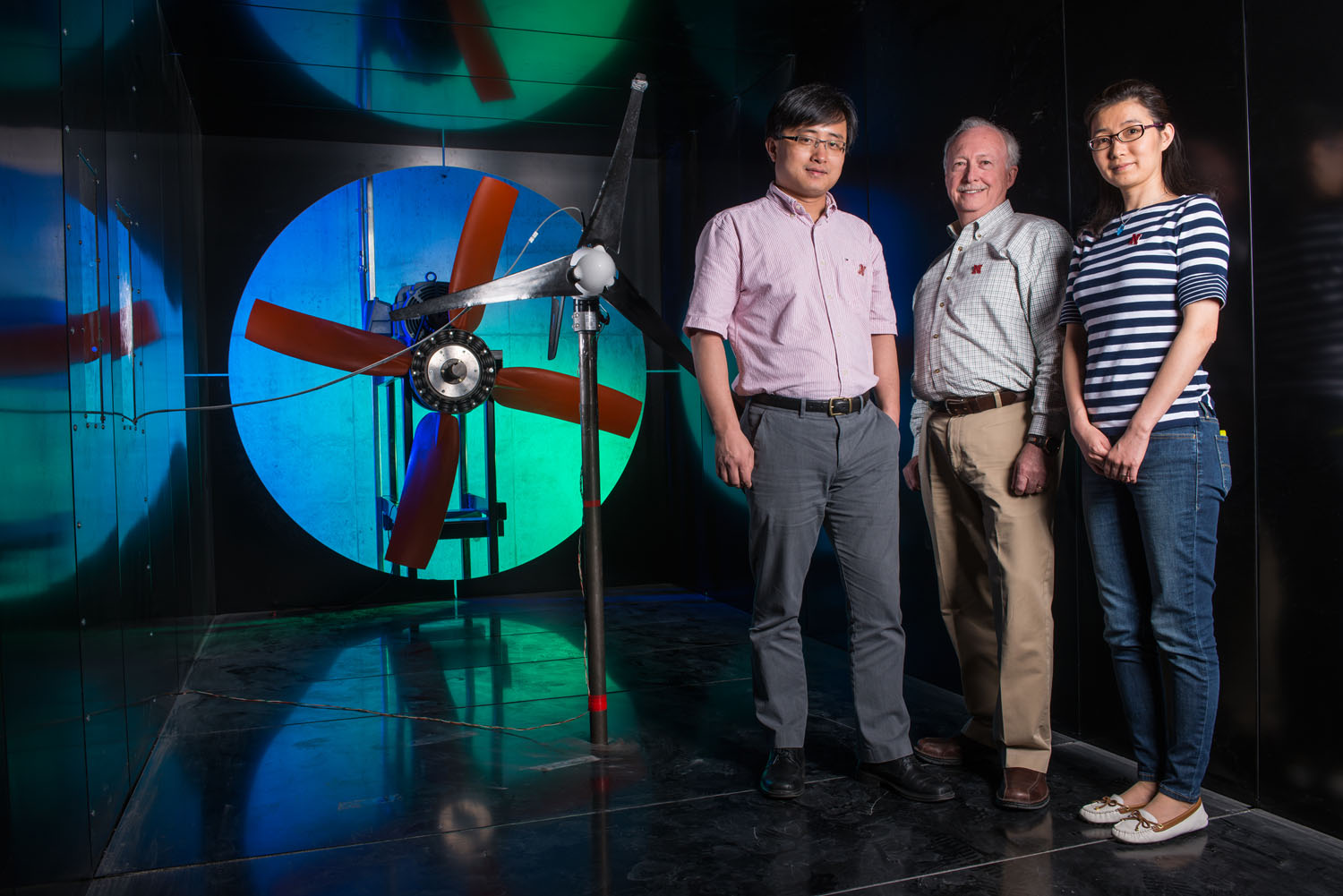 Electrical engineers Wei Qiao, Jerry Hudgins and Liyan Qu