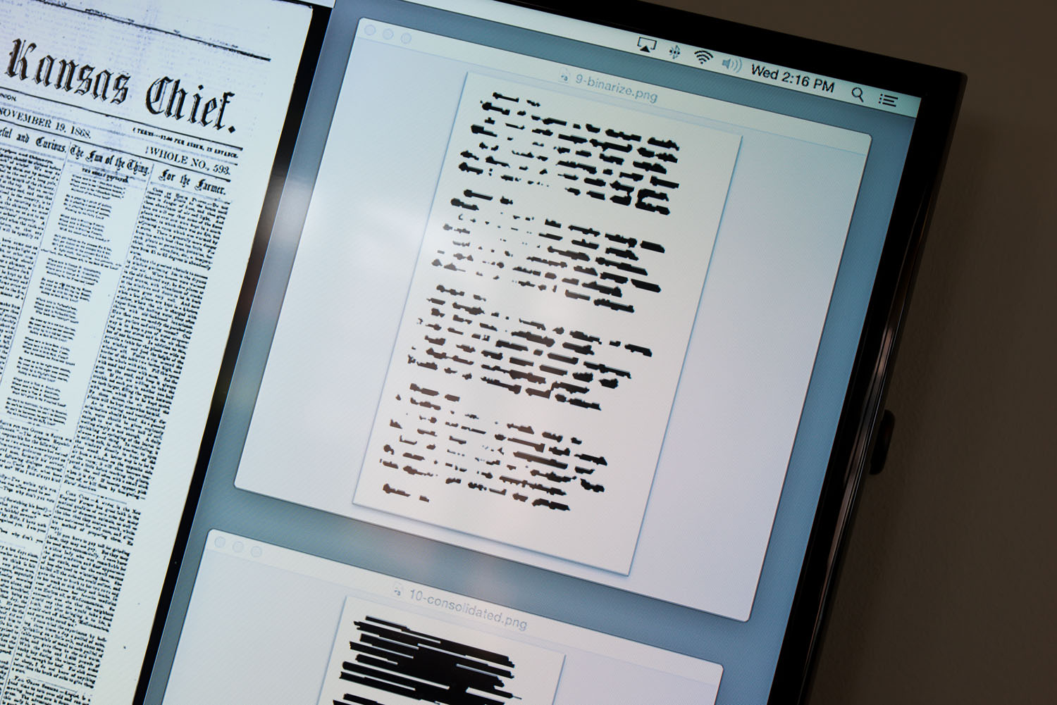 The UNL team's program scans digitized news papers and spots poetry based on visual clues.