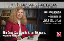 Crawford presents Nebraska Lecture
