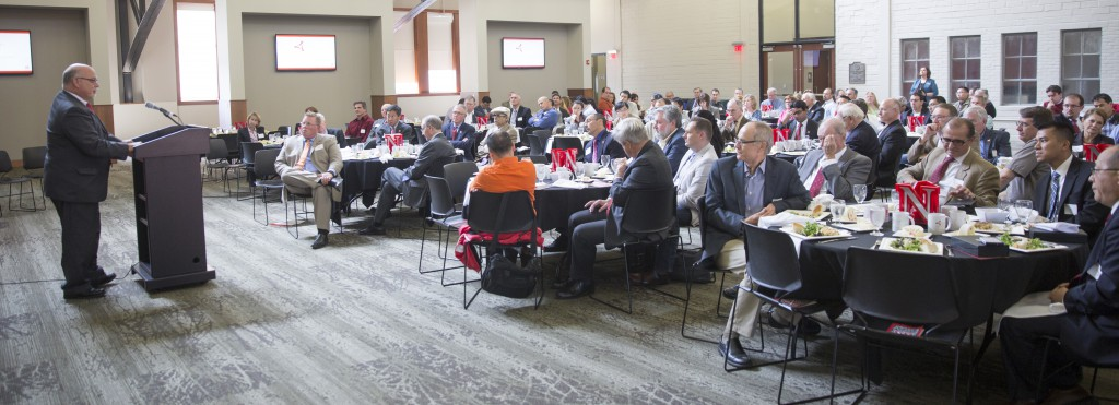 NUTech Ventures Innovators Appreciation Luncheon. October 6, 2015. Photo by Craig Chandler / University Communications