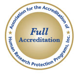 AAHRP accreditation seal