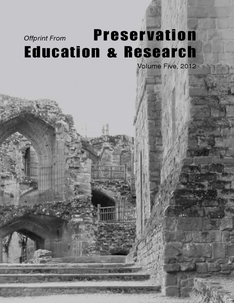 Preservation Education and Research