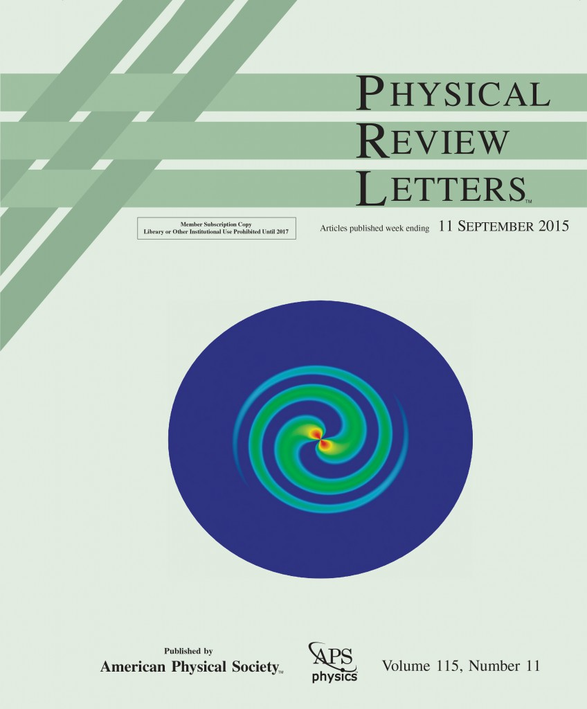 physical review letters unl physical review letters 11 september 2015 office 499